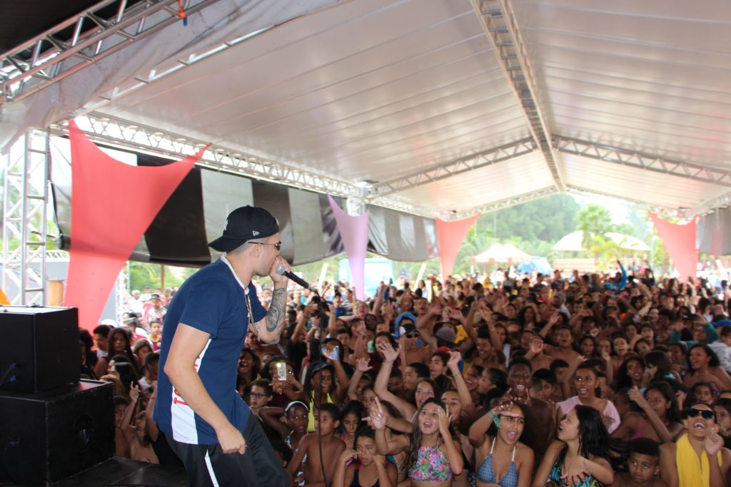 Show com o MC Marks no Magic City