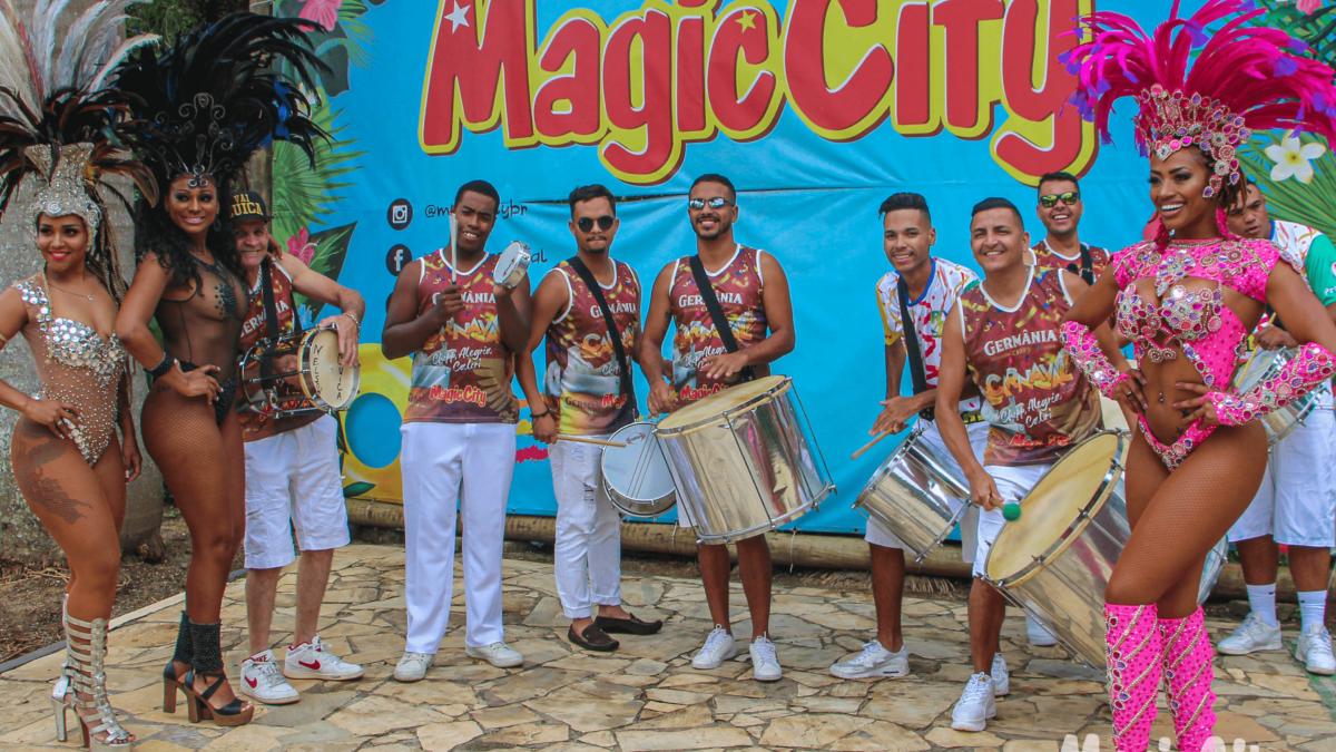 Carnaval no Magic Folia!