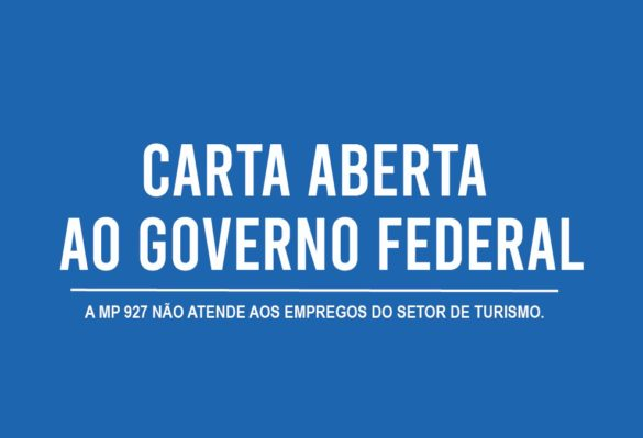 CARTA ABERTA AO GOVERNO FEDERAL