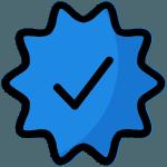 Selo de Verificação de Redes Sociais