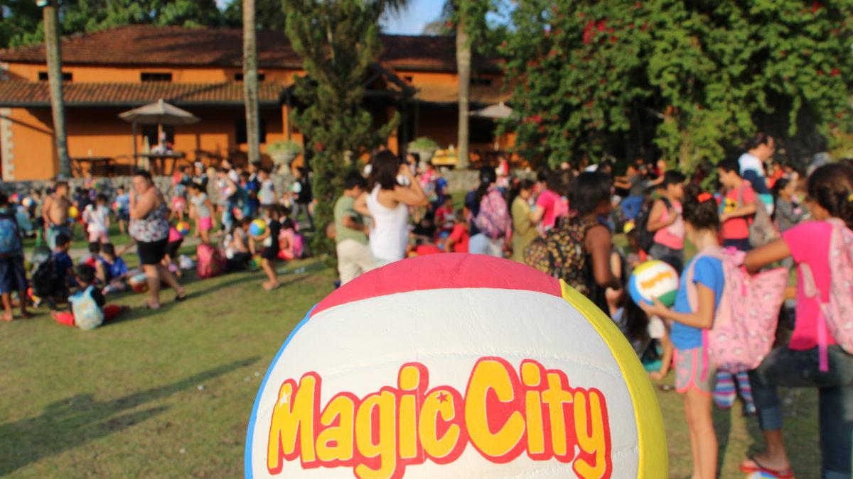 Magic City promove festa para o dia das crianças