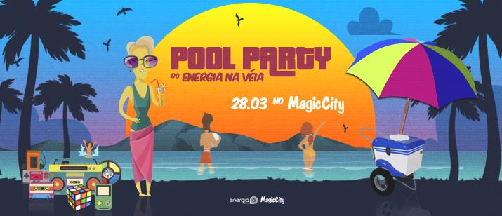 Muito Flash Back na Pool Party do Energia na Véia no Magic City