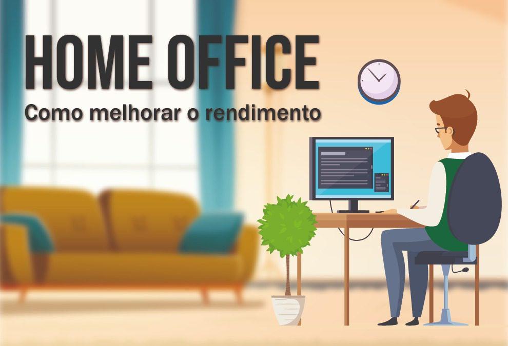 Home office: Como melhorar o rendimento