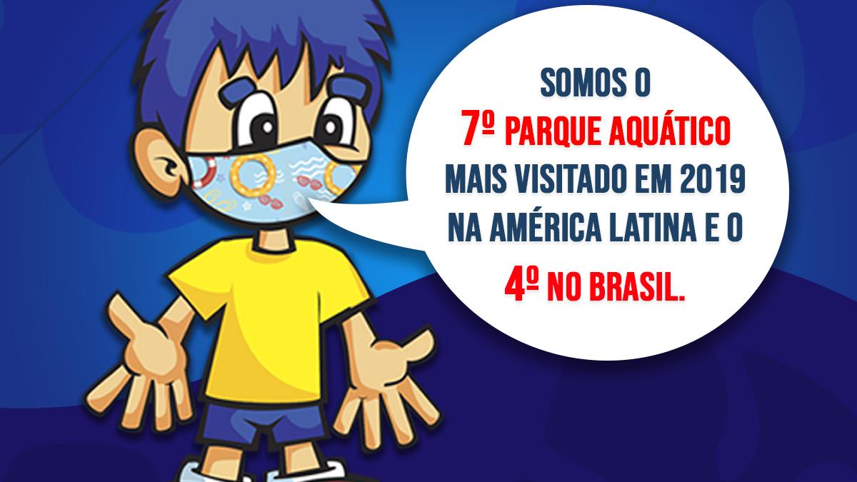 Magic City é o 7º parque aquático mais visitado da América Latina e o 4° do Brasil
