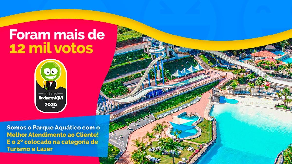 Magic City é o parque aquático do Brasil com o melhor atendimento ao cliente, segundo Reclame Aqui