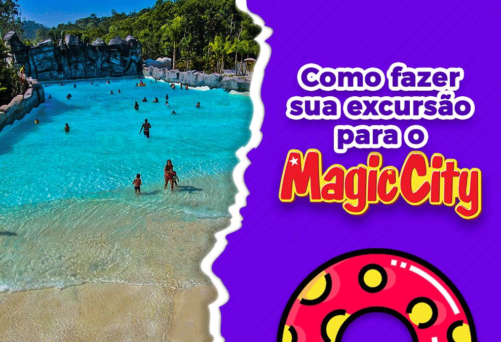 Como fazer uma excursão para o parque aquático Magic City